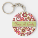 Candy Daisies Custom Gift / Favour Keychain