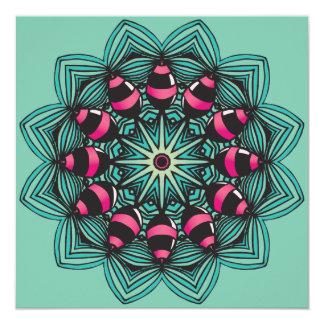 Candy Eggs Mandala Card
