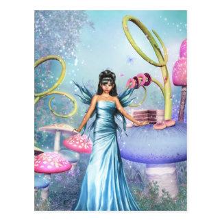 Candy Fairy Postcard