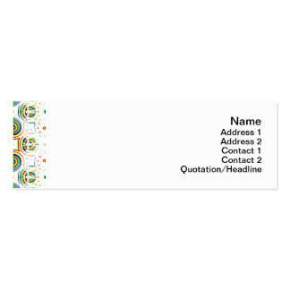 Candy Flowers Small Pack Of Skinny Business Cards