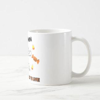 Candy Ghost Coffee Mugs