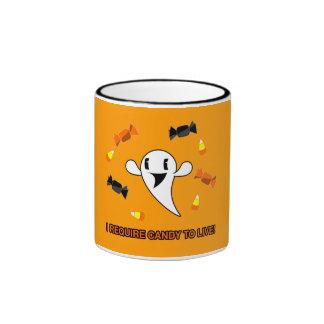 Candy Ghost Mugs
