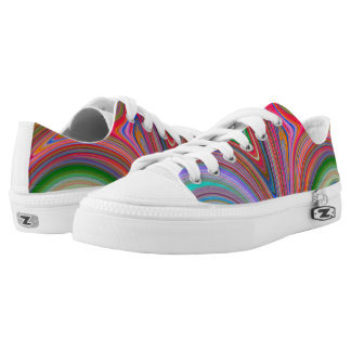 Candy Glitter 5 Swirl Womens Shoes Printed Shoes