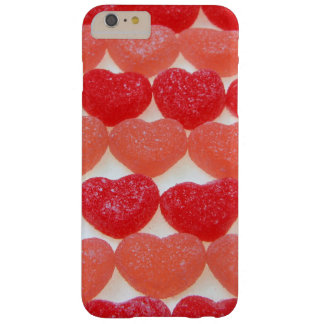 Candy Hearts In A Row Barely There iPhone 6 Plus Case