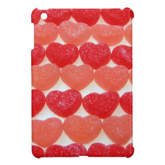 Candy Hearts In A Row iPad Mini Cover