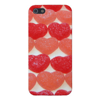 Candy Hearts In A Row iPhone 5 Case