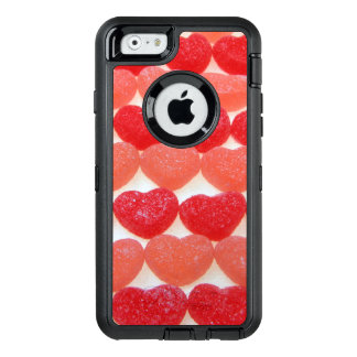 Candy Hearts In A Row OtterBox Defender iPhone Case
