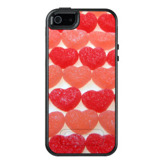 Candy Hearts In A Row OtterBox iPhone 5/5s/SE Case