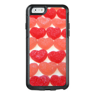 Candy Hearts In A Row OtterBox iPhone 6/6s Case