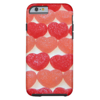 Candy Hearts In A Row Tough iPhone 6 Case