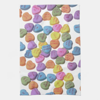 Candy Hearts Towel