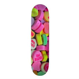 Candy Hearts Trip Custom Pro Park Board 21.6 Cm Skateboard Deck