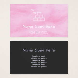 """""""Candy"""" Home Renovator Business Cards"""