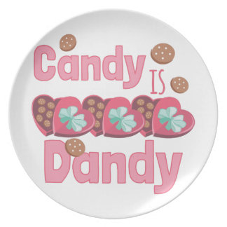 Candy Is Dandy Dinner Plate