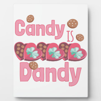 Candy Is Dandy Display Plaque