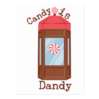 Candy Is Dandy Postcard