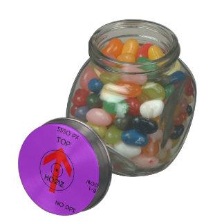 candy jar - horiz 2 template glass jars