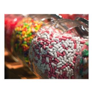 Candy Jars 21.5 Cm X 28 Cm Flyer