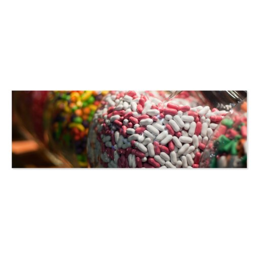 Candy Jars Business Card