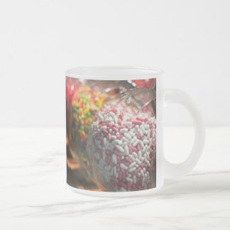 Candy Jars Frosted Glass Coffee Mug