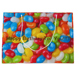 candy jellybean happy birthday gift bag