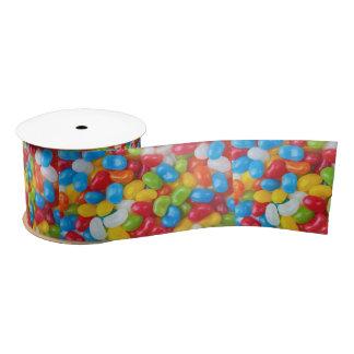 candy jellybean happy birthday ribbon satin ribbon