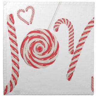 Candy Joy Word2 Napkin
