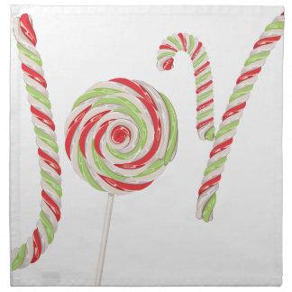 Candy Joy Word Napkin