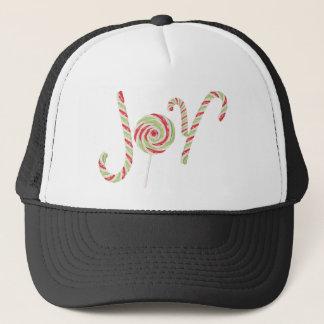 Candy Joy Word Trucker Hat