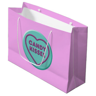Candy Kisses Large Gift Bag