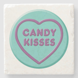 Candy Kisses Stone Coaster