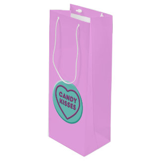 Candy Kisses Wine Gift Bag
