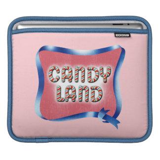 Candy Land Aged Logo iPad Sleeves