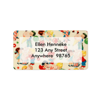Candy Land Label