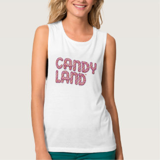 Candy Land Stacked Logo Singlet