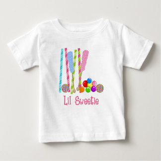 Candy, Lollipops and Gumballs Oh My Baby T-Shirt