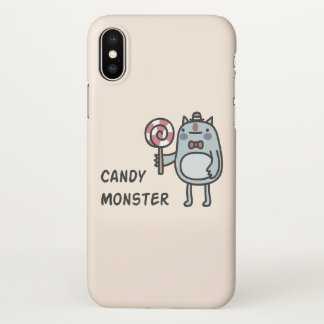 Candy Monster iPhone X Case