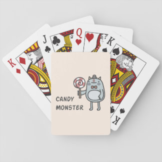 Candy Monster Playing Cards