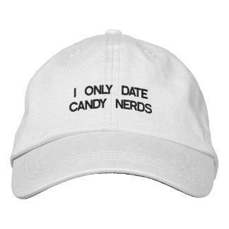 CANDY NERDIE EMBROIDERED BASEBALL CAP