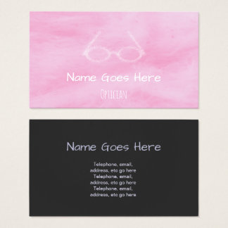 """Candy"" Optician Business Cards"