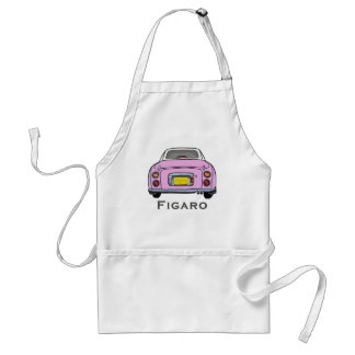 Candy Pink Nissan Figaro Car BBQ Apron