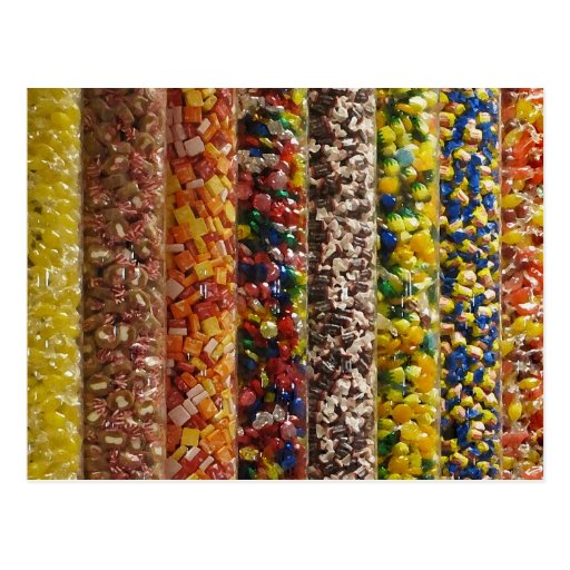 Candy Post Card