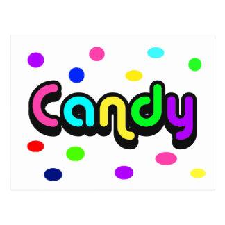 Candy-postcard