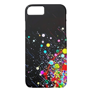 Candy Rain Abstract Art iPhone 7 Case