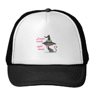 CANDY RIGHT MEOW TRUCKER HAT
