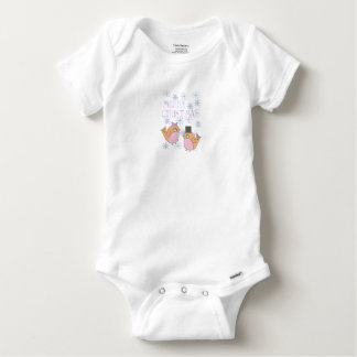 Candy robins baby onesie