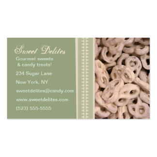 Candy Shop Bakery Sweets Business Cards