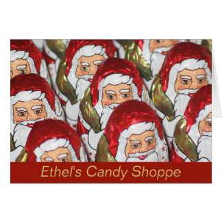 Candy Shop Christmas Card