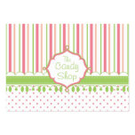 Candy Shop Custom Chubby Pack Of Chubby Business Cards