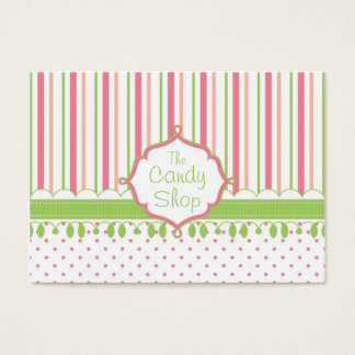 Candy Shop Custom Chubby Business Card